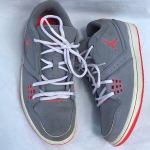 Men's Nike Jordan gray Athletic shoes size 8